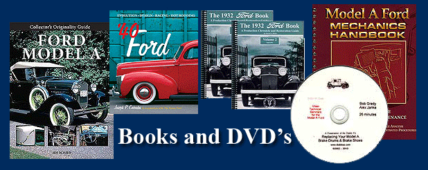 Vintage Ford Books and DVD