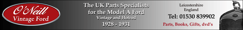 Vintage Model A Ford parts and spares