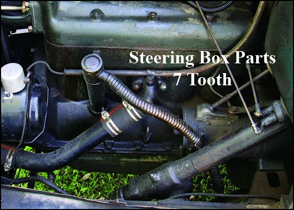 Model T Ford Steering Parts : Ford model a steering box parts tooth
